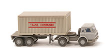 IH Container-Sattelzug 20ft - OT Trans Container, ZM silbergrau/betongrau - 526/10 ?