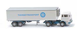 772 - Koffer-Sattelzug MB 1620 Thermotransport