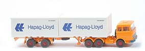 Zur Detailseite MB LPS 2223 Container-Sattelzug - Hapag/Lloyd 2 x 20ft, orangegelb - Hapag/Lloyd 3h