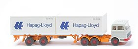 MB LPS 2223 Container-Sattelzug - Hapag/Lloyd 2 x 20ft, grauweiss - Hapag/Lloyd 3f ?