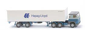 Scania 111  Container-Sattelzug - Hapag/Lloyd 1 x 40ft - 520/45a