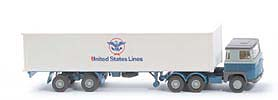 Zur Detailseite Scania 111  Container-Sattelzug - United States Lines - 520/41b