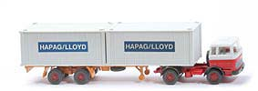 MB LPS 1620 Containersattelzug - HAPAG/LLOYD weiss / rot - Hapag-Lloyd 5?