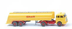 "MAN 10.230 Shell-Tanksattelzug - Bolzen gross, o. Zugh., ""Shell"" 20mm - 802/3 #"