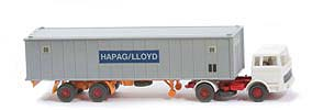 MB LPS 1620 Containersattelzug - HAPAG/LLOYD  weiss / weiss / weiss - Hapag-Lloyd 5?