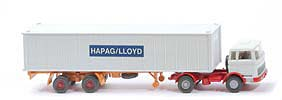 MB LPS 1620 Containersattelzug - HAPAG/LLOYD altweiss / altweiss / rot - Hapag-Lloyd 5?