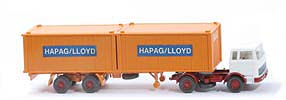 MB LPS 1620 Containersattelzug - HAPAG/LLOYD weiss / weiss / h - Hapag-Lloyd 5?