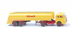 "MAN 10.230 Shell-Tanksattelzug - Bolzen gross, o. Zugh., ""Shell"" 20mm - 802/3c"