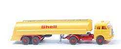"MAN 10.230 Shell-Tanksattelzug - Bolzen gross, o. Zugh., ""Shell"" 23mm - 802/3c"