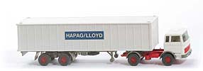 MB LPS 1620 Containersattelzug - HAPAG/LLOYD weiss / weiss / gelbgrau - Hapag-Lloyd 5?