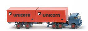 US-Zugmaschine Containersattel - Unicorn, capriblau - Unicorn B