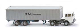 MB LPS 1620 Containersattelzug II - MAN Container  weiss / basaltgrau - 523/13c?