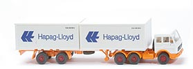 MB 2632 SContainer-Sattelzug - Hapag/Lloyd 2 x 20ft, weiss - Hapag/Lloyd 6