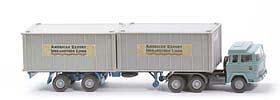 Magirus 235 D Container-Sattelzug - American... 1 x 20ft, Cont silbergrau - American Export ?