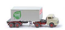 MB LS 1413 Container-Sattelzug 20ft - Bayer - Bayer