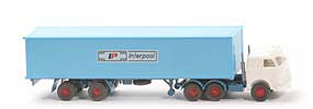 US-Zugmaschine Containersattel - Interpool, weiss / hellblau - Interpool 5