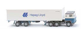 Scania 110  Container-Sattelzug - Hapag/Lloyd 1 x 40ft - 520/37a