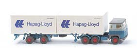 Scania 111  Container-Sattelzug - Hapag/Lloyd 2 x 20ft - 520/45b ?