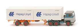 Zur Detailseite Scania 111  Container-Sattelzug - Hapag/Lloyd 2 x 20ft - 520/45b ?