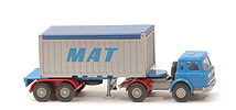 Zur Detailseite MAT 20ft OT, Liliput-Container - open-top-Container - 528a/13a