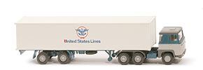 Zur Detailseite Scania 110  Container-Sattelzug - United States Lines - 520/35a
