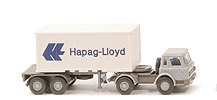IH Container-Sattelzug 20ft - Hapag/Lloyd Container m. Nr. - Hapag/Lloyd 12 ?