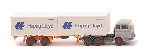 Zur Detailseite MB LPS 2223 Container-Sattelzug - Hapag/Lloyd 2 x 20ft, silbergrau - Hapag/Lloyd 3 ?