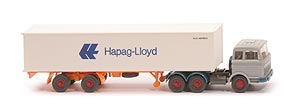 Zur Detailseite MB LPS 2223 Container-Sattelzug - Hapag/Lloyd 1x40ft, silbergrau - Hapag/Lloyd 3 ?