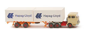 MB LPS 2223 Container-Sattelzug - Hapag/Lloyd 2 x 20 ft, elfenbein - Hapag/Lloyd 3 ?