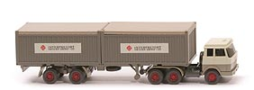 Hanomag-Henschel Container-Sattelzug - Inter Freight - 2x 20 ft Open Top - Inter Freight ?