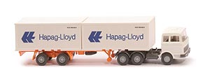 Zur Detailseite MB LPS 2223 Container-Sattelzug - Hapag/Lloyd 2x20ft, FH weiß - Hapag/Lloyd 3 ?