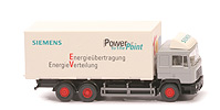 MAN F 90 Wechselkoffer-Lkw - Siemens - Power to the Point - x