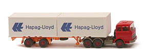 MB LPS 2223 Container-Sattelzug - Hapag/Lloyd 2 x 20ft, rot - Hapag/Lloyd 3 ?