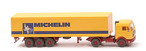 11642 - MB 1644 S Koffersattelzug 2/3 - Michelin gelb