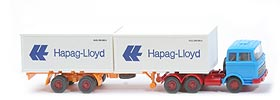 Zur Detailseite MB LPS 2223 Container-Sattelzug - Hapag/Lloyd 2 x 20ft, lichtblau - Hapag/Lloyd 3 ?