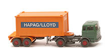 MB LPS 1620 Containersattelzug 20 ft - HAPAG/LLOYD 1x20ft - Hapag-Lloyd ?
