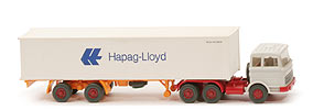 Zur Detailseite MB LPS 2223 Container-Sattelzug - Hapag/Lloyd 2x20ft, FH grauweiß - Hapag/Lloyd 3 ?