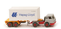 IH Container-Sattelzug 20ft - Hapag/Lloyd Containernummer Fehldruck - Hapag/Lloyd 12