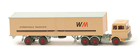 MB LPS 2223 Internationale Transporte - FH-Dach querversteift, 8-fach Teilung - 512/3a