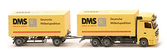 12010 - MB Actros MP3 LH Megaspace Wechselkofferzug - DMS