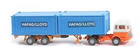 MB LPS 1620 Containersattelzug - HAPAG/LLOYD 2x20ft himmelblau - Hapag-Lloyd 5a?