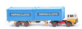 MB LPS 1620 Containersattelzug - HAPAG/LLOYD 2x20 ft himmelblau - Hapag-Lloyd 5a?