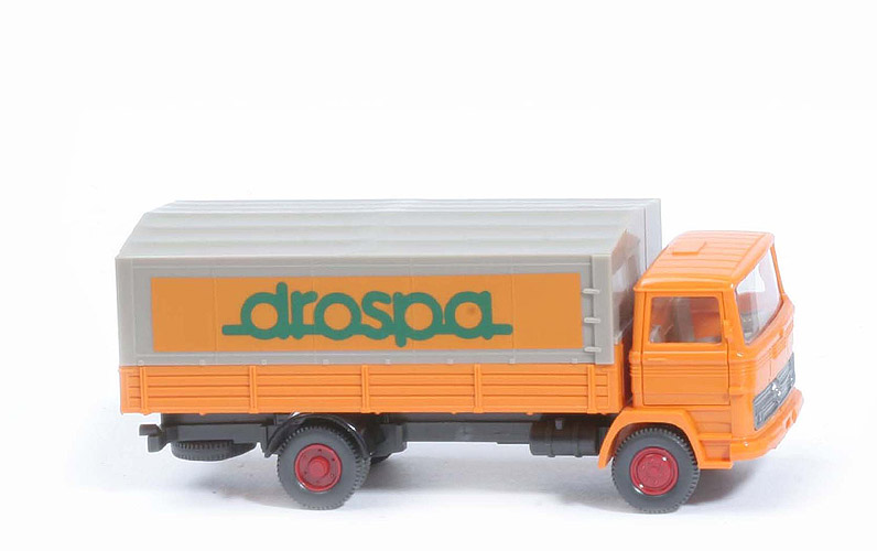 MB LP 1317 Pritsche, Drospa - FH,  PR, orange - 437/7