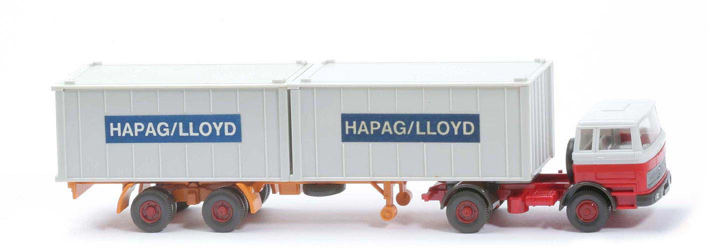MB LPS 1620 Containersattelzug - HAPAG/LLOYD weiß / rot - Hapag-Lloyd 5?