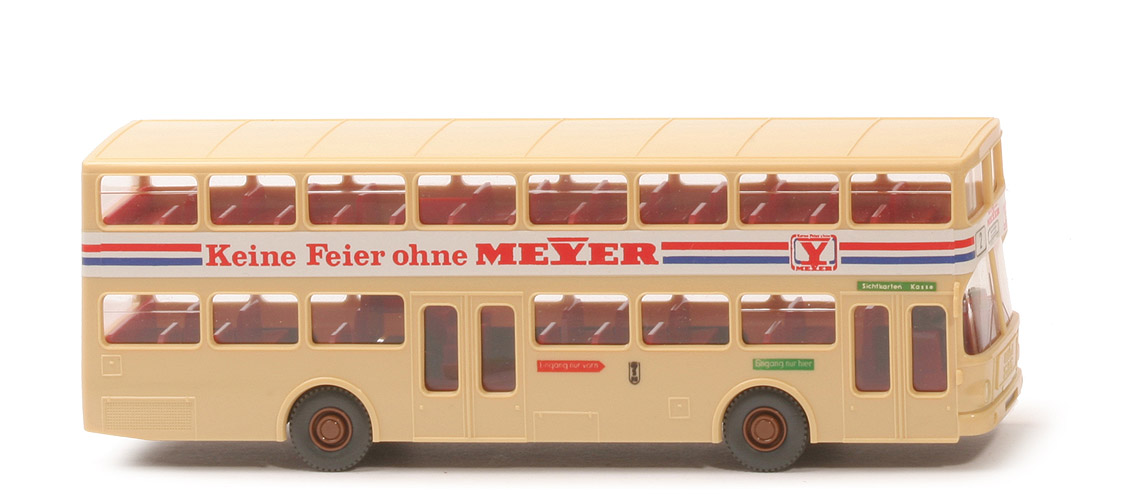Kneules Wiking Standards Man Sd 200 Doppeldeck Bus Meyer Berlin