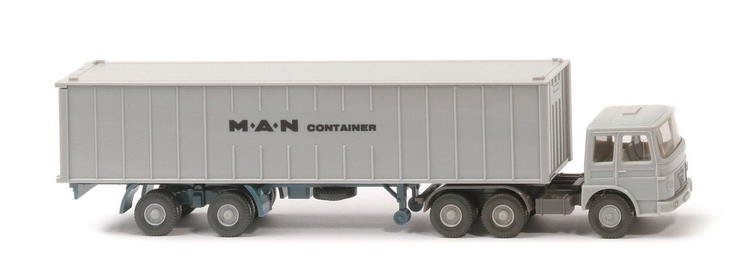 MAN  22.321 Containersattel - MAN Container Cont silbergrau - MAN (14) ~