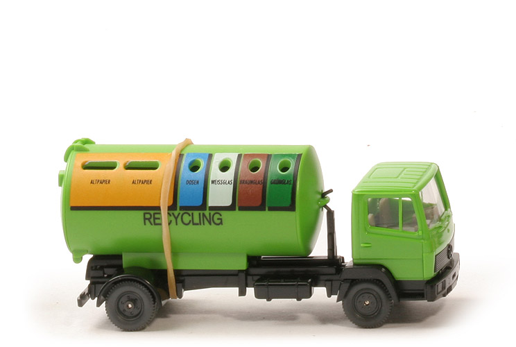 MB 814 Recycling - Kabine hellgelbgrün - 643/20 Messe