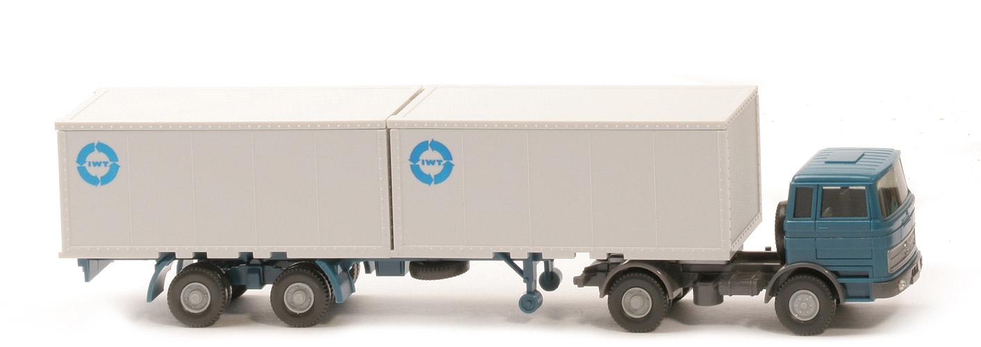 kneule\'s wiking standards - MB LPS 1620 Containersattelzug IWT ...