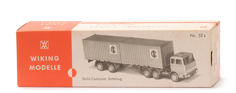 "Stahl-Container Sattelzug MB 2223 ""ICS"""